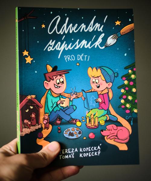 Adventní zápisník pro děti